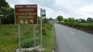 Arwydd Criccieth