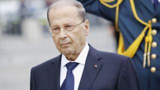 میشل عون، رئیس جمهور لبنان ثبات امنیتی، اقتصادی، مالی و سیاسی کشورش را خط قرمز خوانده است