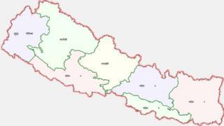 नेपालको नक्शा