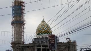 masjid di Jayapura, Papua.