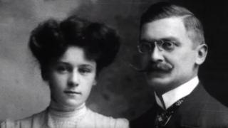 Los bisabuelos de Boris Johnson, Alí Kemal y Winifred Brun