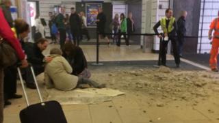 Woman hurt at Queen Street