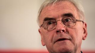 John McDonnell, Shadow Chancellor