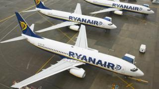 Ryanair, літаки