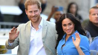 The Duke and Duchess of Sussex arrive for a visit to the District Six Museum in Cape Town, South Africa