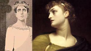 Brave Antigone, Leighton, Frederic