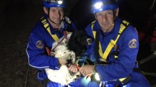 Coastguard rescue