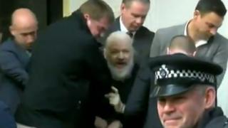 Detención Assange