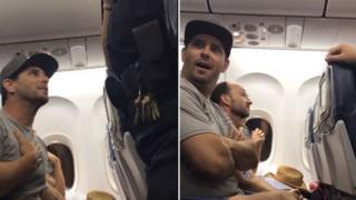 Конфликт в самолете