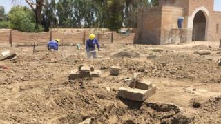 World War Two graves of Allied dead restored in Iraq