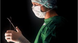 Surgeon at work