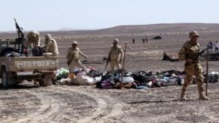 گروههای شبهنظامی مسئولیت چند حمله در صحرای سینای مصر را برعهده گرفتهاند