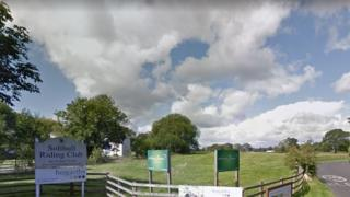 Solihull Riding Club sign