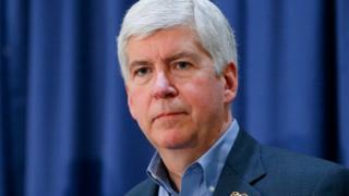 Michigan Governor Rick Snyder