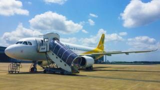 Самолет VANILLA AIRLINES