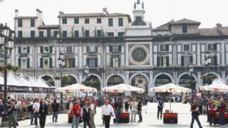Brescia Piazza della Loggia - file pic