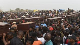 Benue killings di funeral