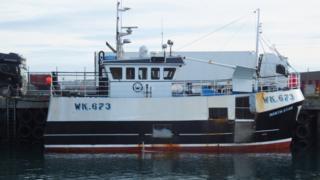 Creel boat North Star
