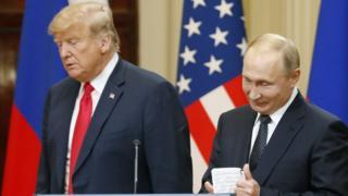 اجلاس هلسینکی میان رهبران آمریکا و روسیه