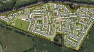 Planned Cloverhill development