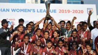 भारतीय महिला फुटबॉल खिलाड़ी