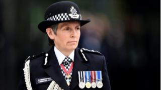 Cressida Dick, London's Metropolitan Police Commissioner