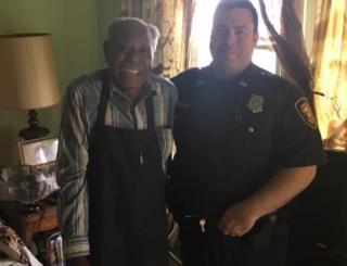 Hatley and cop