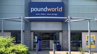 Poundworld in Carmarthen