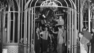 Douglas Slocombe in 1950 shooting Cage of Gold