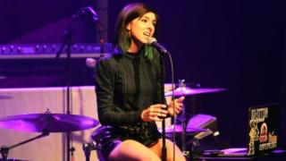 Christina Grimmie performs at a concert. File photo