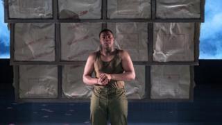 John Boyega in Woyzeck