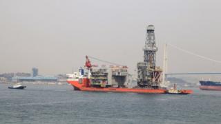 Modules for Clair Ridge platforms leaving South Korea