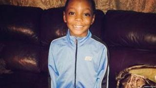 Amari Brown, 7, was killed in a local park