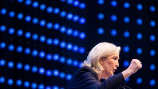 Marine Le Pen, 17 June