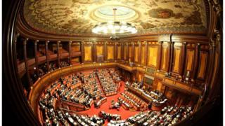 Italian Senate chamber