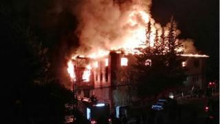 Пожар в Адане