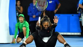 Serena Williams won her first Australian Open title 14 years ago