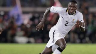 FIFA don ban Ghana defender Samuel Inkoom for one-year