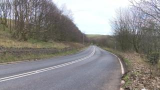 View of the road