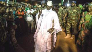 Yahya Jammeh, ancien président de la Gambie