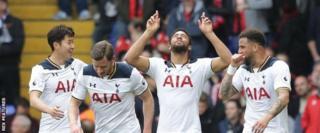 Umugwi wa Tottenham niwo ubangamiye cane Chelsea mw'ihiganwa rya Premier League 2016/17
