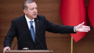 President Recep Tayyip Erdogan (19 April)