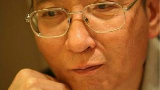 Chinese dissident Liu Xiaobo is seen in this undated photo released by his families.