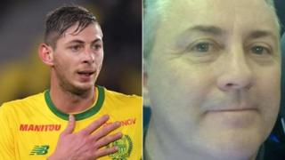 Emiliano Sala ve pilot David Ibbotson