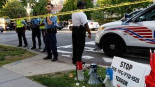 Washington Türkiye Büyükelçiliği önünde kavga