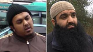 Two of the arrested men have been named as Rofi Islam and Sajid Idris
