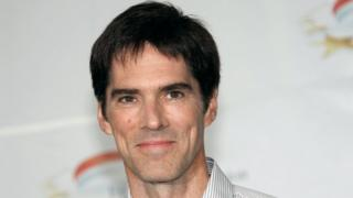 US actor Thomas Gibson, star of the television show 'Criminal minds,' poses at the 2011 Monte Carlo Television Festival.