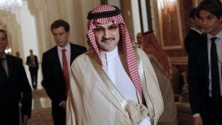 Prince Al-Walid ben Talal, Kingdom Holding Company, Arabie saoudite, BBC Afrique, Tadawul All-Shares, Tasi