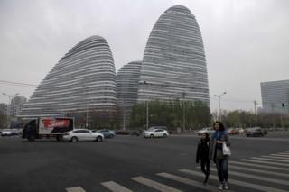 位于北京东部的望京成为北京新的互联网与科技中心。