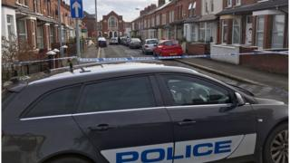 Police were called to a house in Titania Street shortly after midnight on Sunday